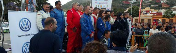 Espectacular arranque del III Rallye Ciudad de La Laguna con gran éxito de asistencia