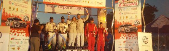 Víctor Delgado y Laura Correa vencedores absolutos del III Rallye Ciudad de La Laguna