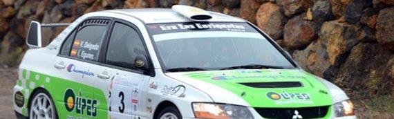 En el meridiano del III Rallye Ciudad de  La Laguna comanda Víctor Delgado