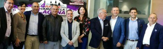 Brillante presentación de la cuarta edición del Rallye Ciudad de La Laguna