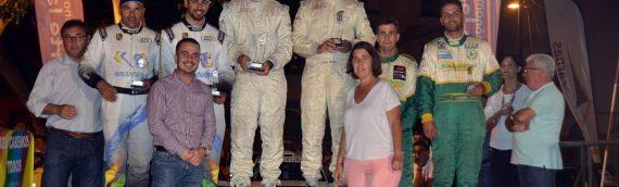 Airán Mejías y Ayoze García, vencedores absolutos del IV Rallye Ciudad de La Laguna
